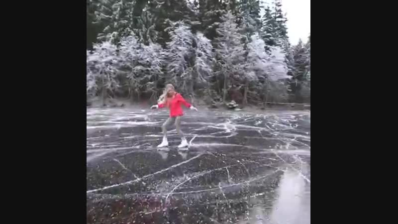 Beautiful Scenery and Ice Skating-SongWhole Heart - Gryffin