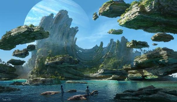 Концепт-арты будущих частей «Аватара»