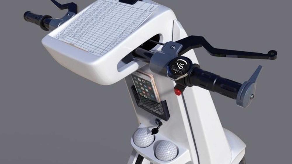 GolfGlide CGV - концепт скутера для гольфа