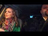 Марина Девятова учит слова собственной песни