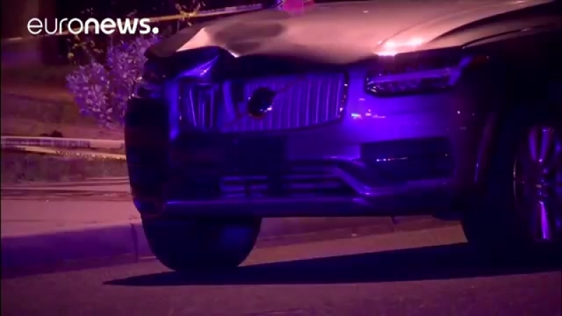 Video shows moments before Uber self driving car hits pedestrian