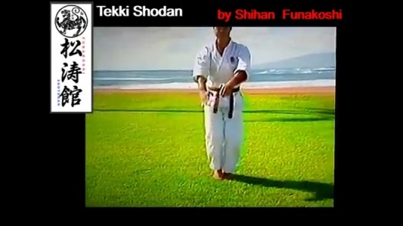 Sensei Kevin Funakoshi 船越 - Tekki Shodan