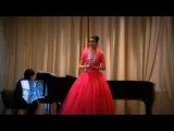 Перголези Ария Серпины из оперы Служанка-госпожа - Кумис Базарбаева