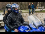 Просто катаемся на мотоциклах по городу