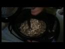 сырный суп с грибами и охотничьими сосисками в мультиварке