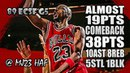 Michael Jordan Highlights 1989 ECSF Game 5 vs Knicks - 38pts,10ast, ALMOST 19pts COMEBACK!