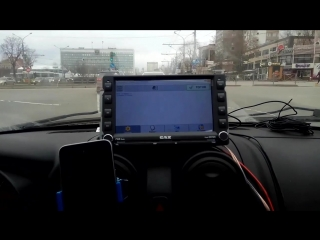 Автоинформатор на штатной магнитоле Газель