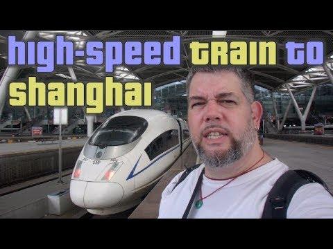 High-Speed Train to Shanghai