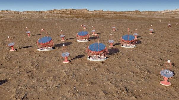 Крупнейший в мире гамма-телескоп разместят на двух полушариях IKSXwMO5TBk