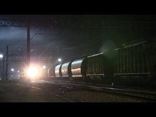Тепловозы ER20CF и ТЭП70 / ER20CF and TEP70 diesel locomotives