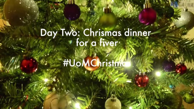 Day two Christmas dinner for a fiver