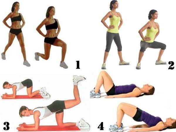 Что сделать чтобы похудели ноги и бедра в домашних условиях