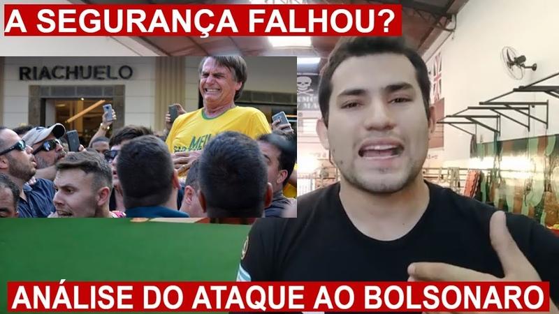 Houve Falha na Segurança do Bolsonaro? Análise do ataque Faca