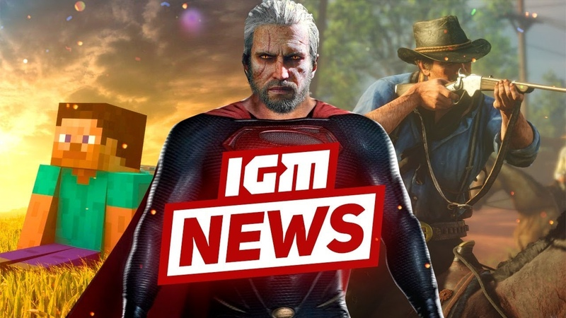 IGM News Геймплей Red Dead Redemption 2 и Геральт-супермен