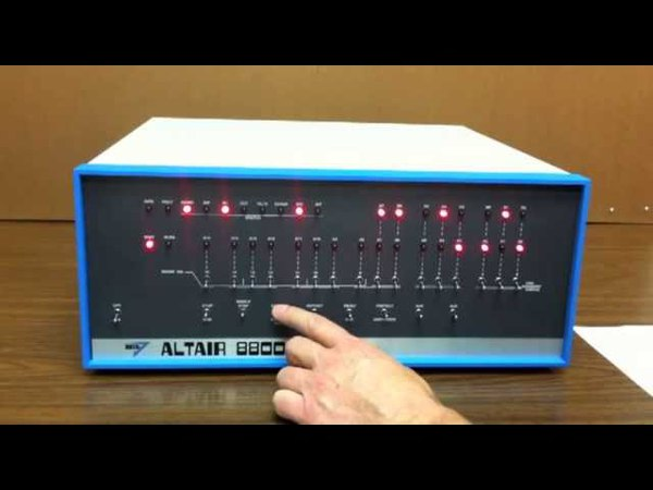 Altair 8800 Video 3 Kill the Bit Game