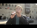 Playing duduk and speaking Armenian at Jaffa's monastery, Israel