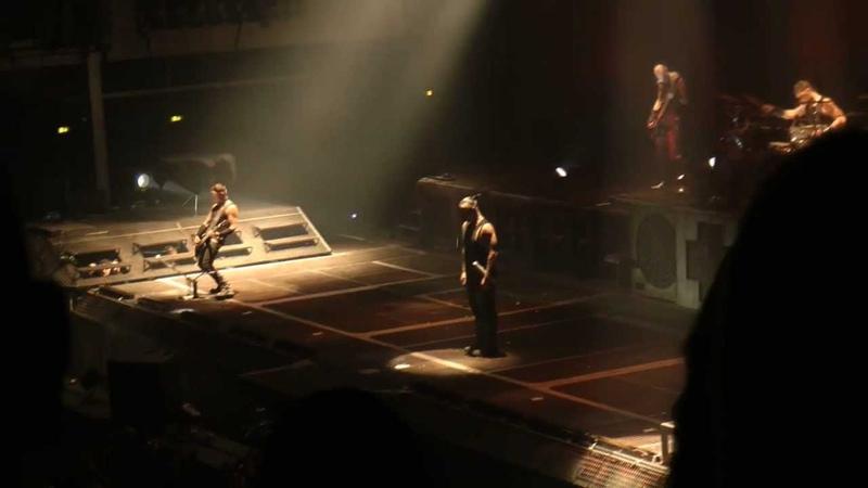 Rammstein - Sehnsucht - (live Stuttgart Schleyerhalle 10.12.2011)