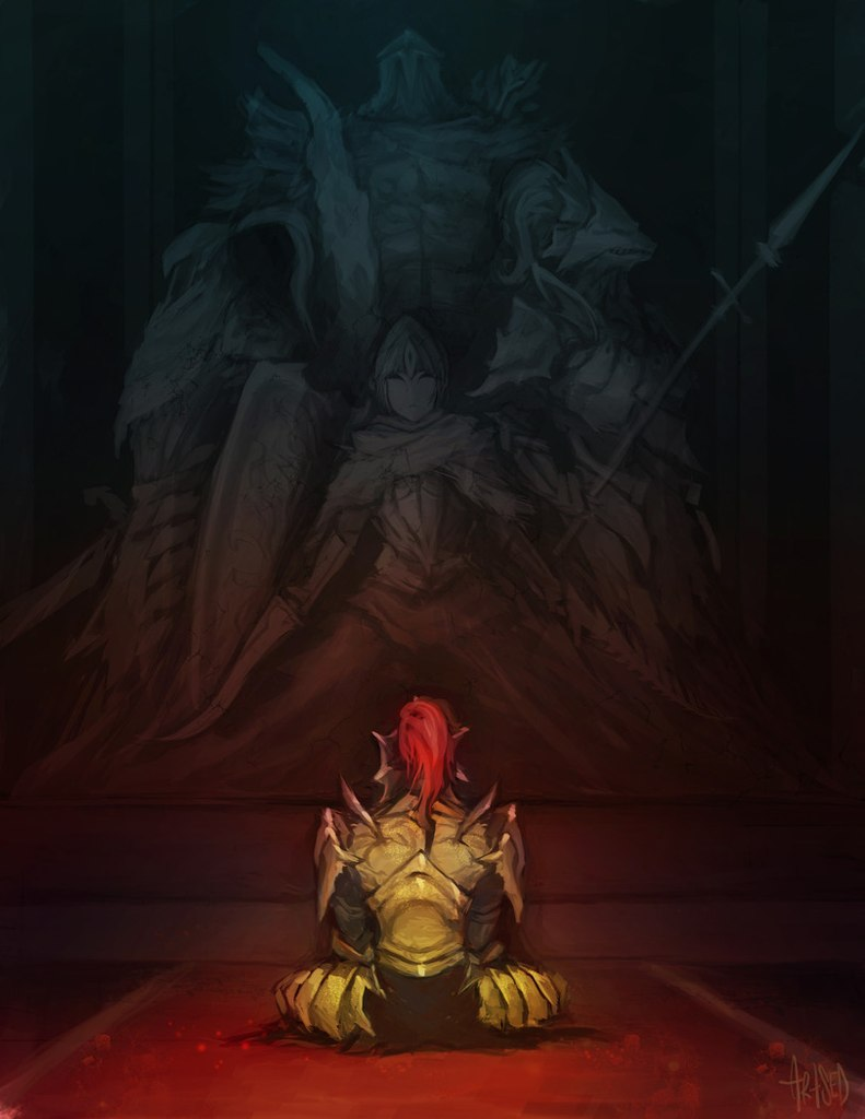 Dark Souls fan-art 9CMbFYnVVUg