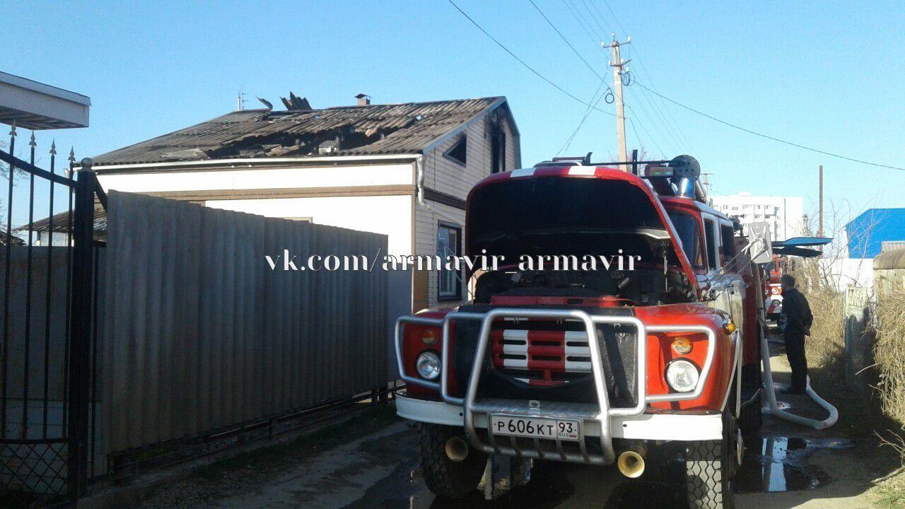 Частный дом горел на Каспаровских дачах сегодня.