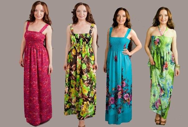 модели платья в горошек - Кокетка
