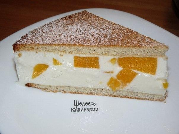 Творожно йогуртовый торт фото