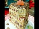 """Близкие ахнут Проверенный годами нежный и вкусный торт Вишневые соты"""""""