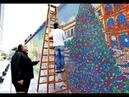 Самая большая мозаика из кубика Рубика