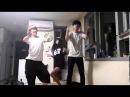 [K-POP]남녀 고등학생들의 짜파구리 떡춤 in Korea
