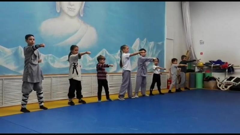 На занятиях с инструктором Евгением Ветчининым