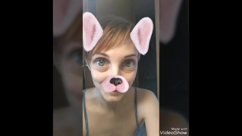 Александра Самкова из сториз в инстаграм