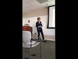 ScientificCoin Demo day In Silicon Valley - COO Natasha Madsen - 26 October 2018