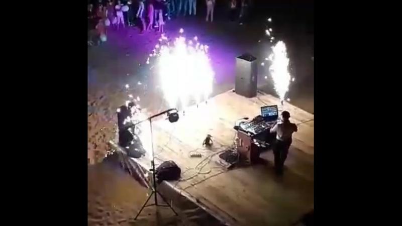 пляжная вечеринка в Лоеве 10 августа