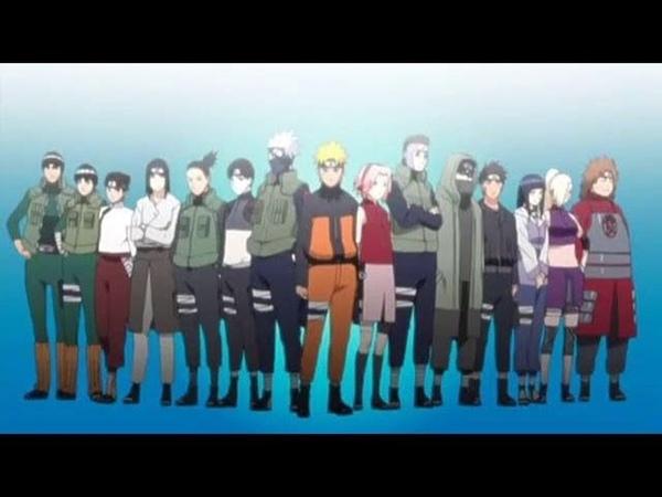 Naruto Shippuden - Opening 5 V1 e V2