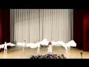 Ангел летит в исполнении прекрасной Софии Бартоломей и студии классической хореографии Venus