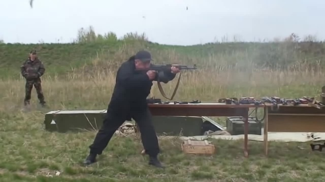AK recoil control (standing, walking, on one foot)