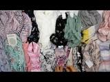 Headscarfs New Summer Mix (3 kg) - легкие летние платки сток 8 пакетов (состав мешков у всех похожий)
