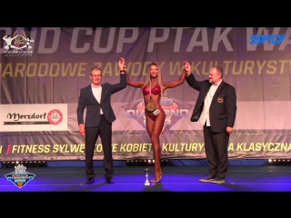 2018 IFBB Diamond Cup Warsaw - bikini overall Marina Oborskaya