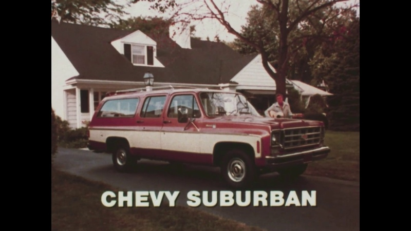 1975 Chevy Suburban 9 passanger Commercial - Better Color and Quality