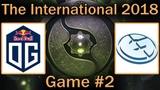 Устоят ли EG против ПУШ ПИКА OG | OG vs EG Map #2 bo3 [RU] | The International 8