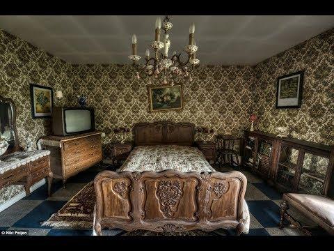 Заброшенный дом с мистической или криминальной историей