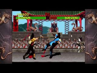 Mortal kombat  scorpion vs sub-zero  the 27 year fight