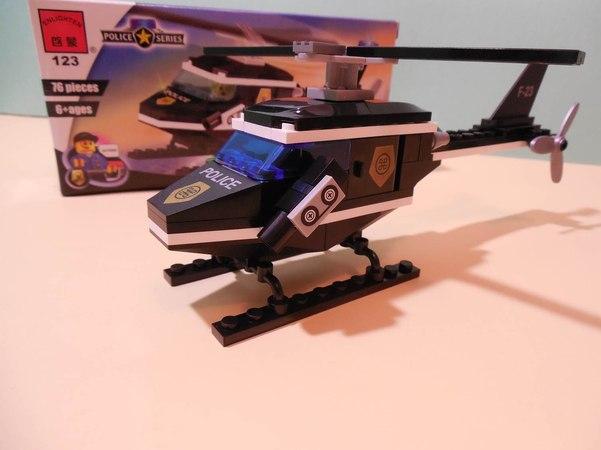 Lego City Police Stories Undercover TOYS helicopter лего сити игрушки вертолет распаковка