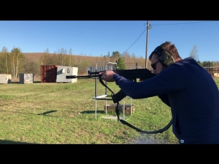 стрельба с ДТК Ильина под калибр 366