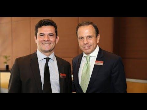 Moro fará palestra para ricos nos EUA em evento do Doria (PSDB). E não tem lado né