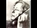 George Enescu plays Chausson Poeme (Part 2)