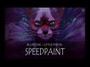 || Speedpaint || Bluestar - Little Pistol