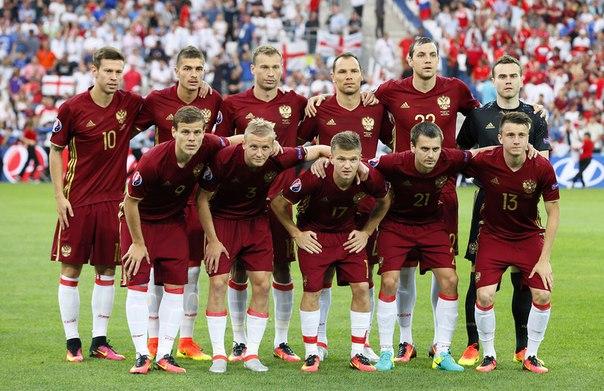 Стартовый состав сборной России на матч со Словакией