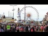 Oktoberfest beginnt in München unter großem Sicherheitsaufkommen