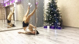 Exotic pole dance LEVEL 2