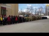 Сейчас в STR.RU .Награждение пожарных к 100-летию пожарной службы. Аллея пожарных
